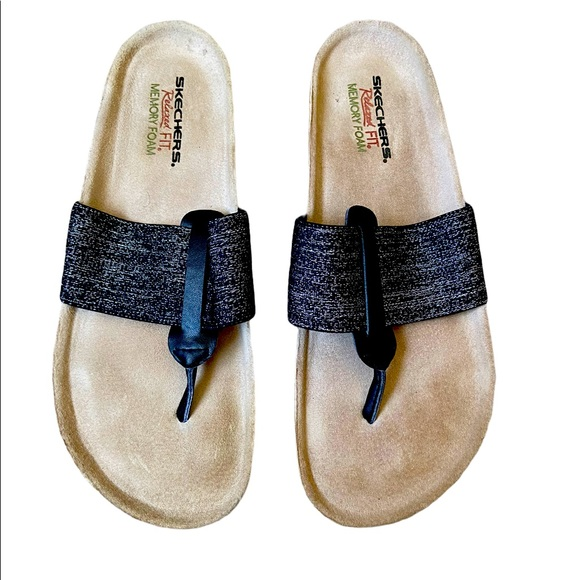 Sketchers Relaxed Slippers  Fit Memory Foam Size 9